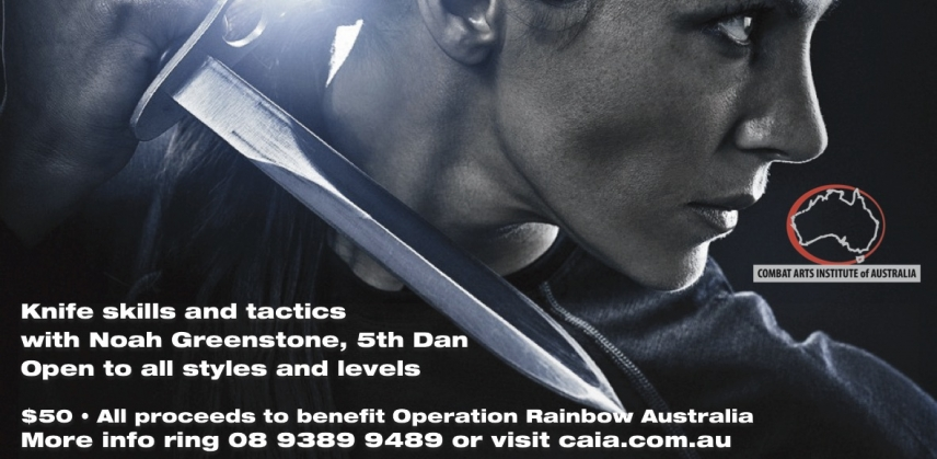 Perth Knife to Knife Charity Workshop 29 September